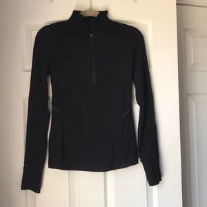 Lulu Lemon Black 1/4 Zip